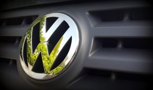 front grill on a volkswagen